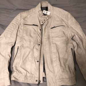 Small Cream Mens Express Jacket